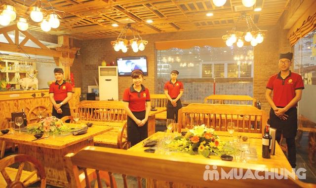 Buffet Lẩu Hải sản bò Mỹ và Sushi tại Nhà hàng Moon BBQ - 11