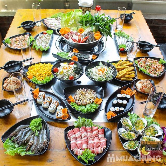 Buffet Lẩu Hải sản bò Mỹ và Sushi tại Nhà hàng Moon BBQ - 14