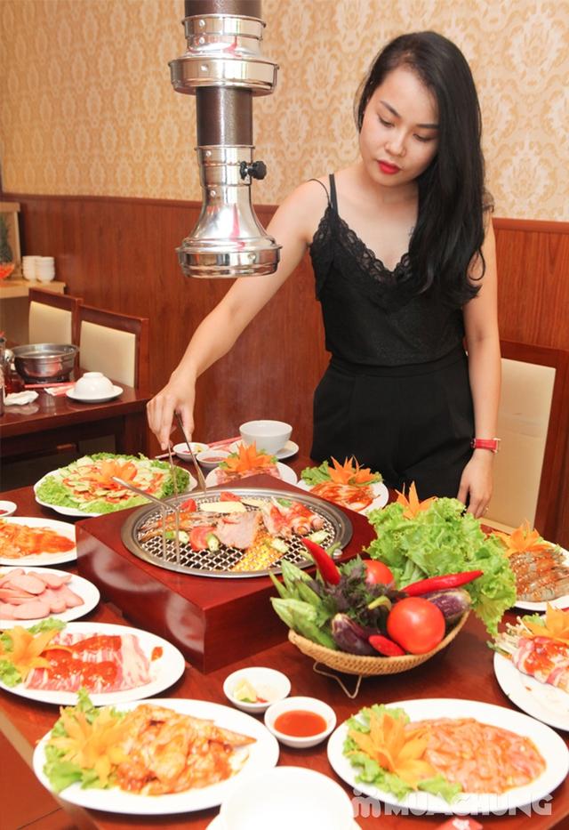 (Chỉ 99K) Butffet Nướng than hoa tại Nhà hàng Lẩu Hội Quán Hoàng Cầu - Menu 169K - 3