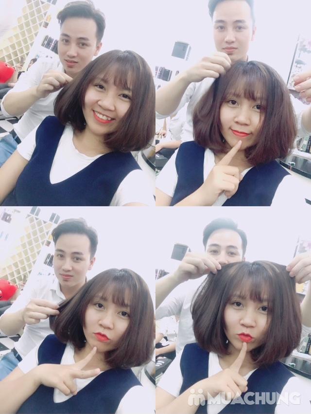 Tạo kiểu và giữ chuẩn phom đẹp như ý tại Hà An Hair Salon Tôn Thất Tùng - 12