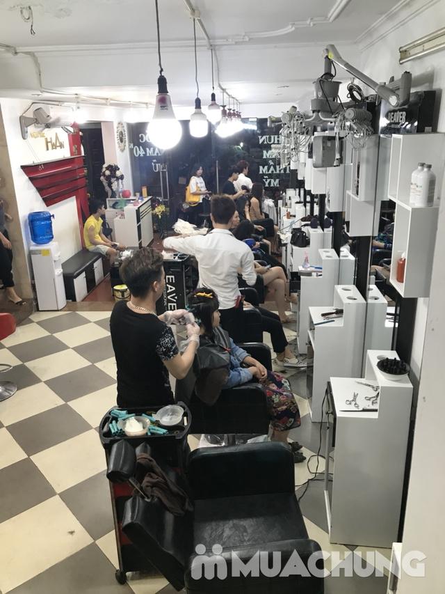 Tạo kiểu và giữ chuẩn phom đẹp như ý tại Hà An Hair Salon Tôn Thất Tùng - 14