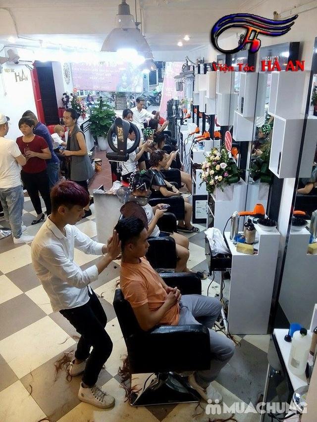 Tạo kiểu và giữ chuẩn phom đẹp như ý tại Hà An Hair Salon Tôn Thất Tùng - 13