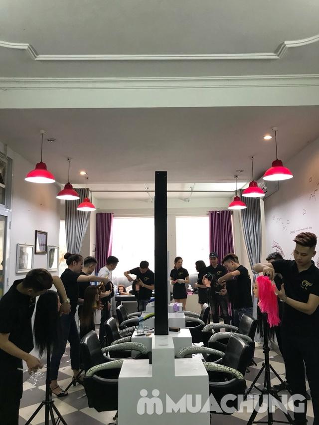 Tạo kiểu và giữ chuẩn phom đẹp như ý tại Hà An Hair Salon Tôn Thất Tùng - 15