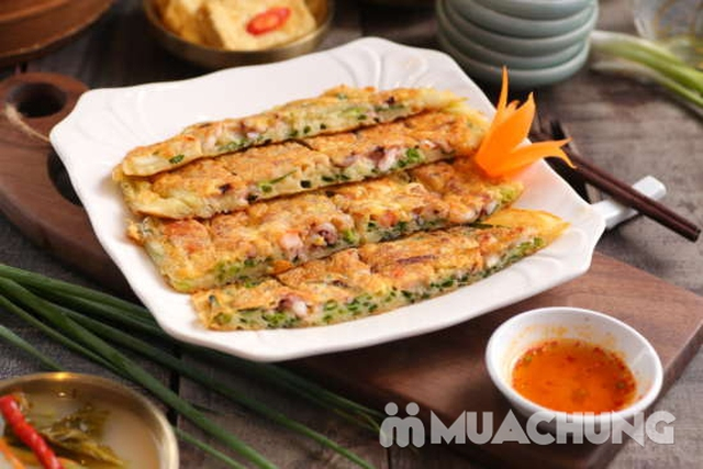 """Set """"Gà tần sâm + Bánh hành hải sản/Cơm trộn Hàn Quốc + panchan không giới hạn"""" cho 2 ngườ - NH Chum - 7"""