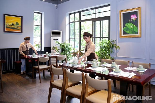 """Set """"Gà tần sâm + Bánh hải sản/Cơm trộn HQ + Panchan không giới hạn"""" cho 2 người - Nhà hàng Chum - 5"""