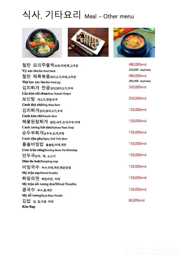 """Set """"Gà tần sâm + Bánh hải sản/Cơm trộn HQ + Panchan không giới hạn"""" cho 2 người - Nhà hàng Chum - 7"""