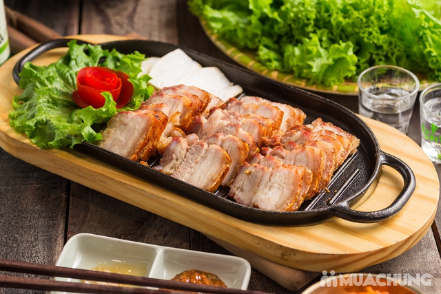 """Set """"Gà tần sâm + Bánh hải sản/Cơm trộn HQ + Panchan không giới hạn"""" cho 2 người - Nhà hàng Chum - 3"""