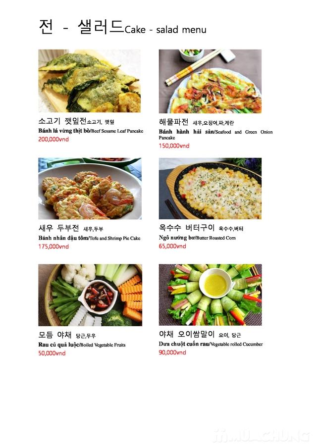 """Set """"Gà tần sâm + Bánh hải sản/Cơm trộn HQ + Panchan không giới hạn"""" cho 2 người - Nhà hàng Chum - 6"""