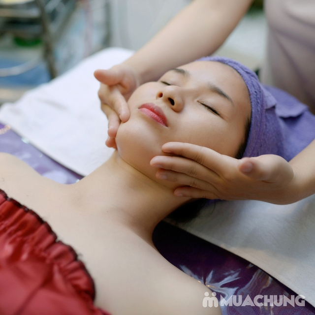 Chăm sóc da mặt, massage đá nóng tại Doctor Spa - 8