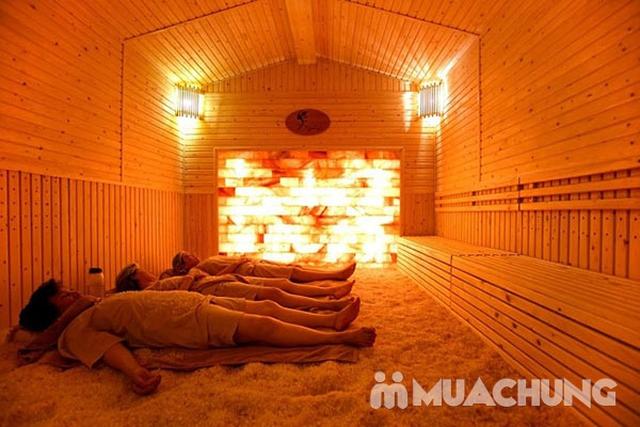 Combo xông hơi đá muối không giới hạn + Massage Body đả thông kinh lạc tại Mộc An Spa & Massage - 8
