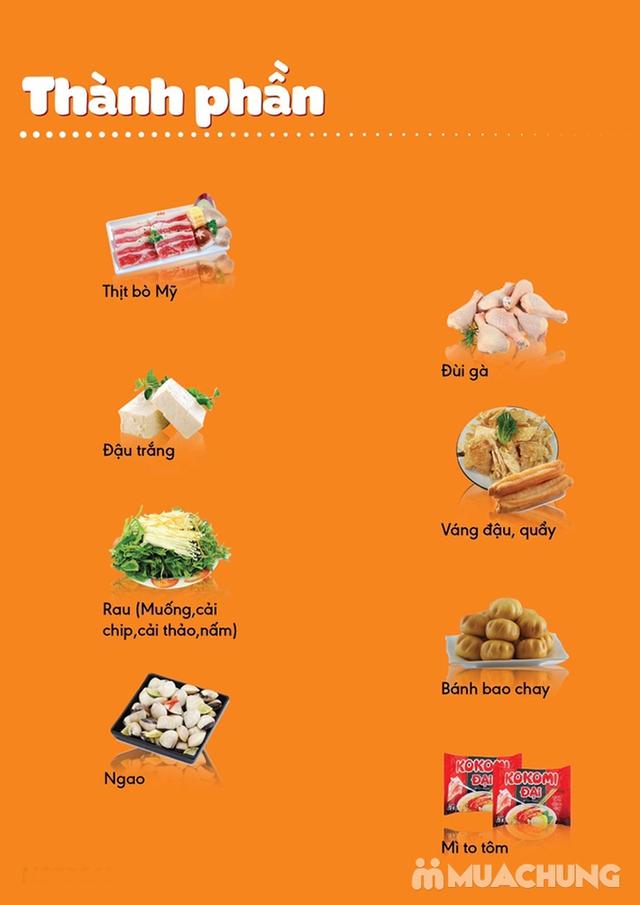 Ăn thả ga buffet lẩu bò Mỹ + nhiều món ăn kèm tại Buffet Ngon 38 Ngọc Khánh - 37