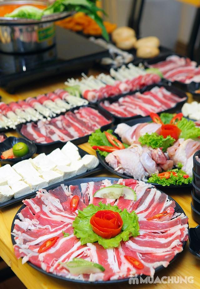 Ăn thả ga buffet lẩu bò Mỹ + nhiều món ăn kèm tại Buffet Ngon 38 Ngọc Khánh - 17