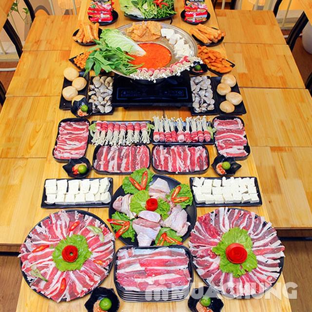 Ăn thả ga buffet lẩu bò Mỹ + nhiều món ăn kèm tại Buffet Ngon 38 Ngọc Khánh - 16
