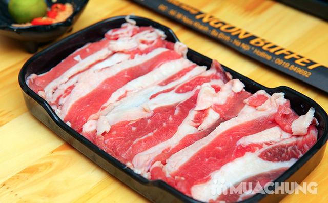 Ăn thả ga buffet lẩu bò Mỹ + nhiều món ăn kèm tại Buffet Ngon 38 Ngọc Khánh - 26