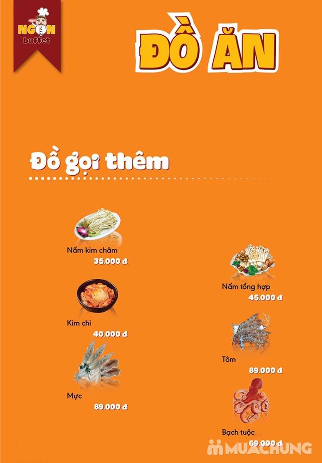 Ăn thả ga buffet lẩu bò Mỹ + nhiều món ăn kèm tại Buffet Ngon 38 Ngọc Khánh - 42