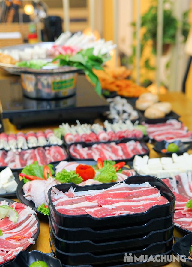 Ăn thả ga buffet lẩu bò Mỹ + nhiều món ăn kèm tại Buffet Ngon 38 Ngọc Khánh - 20