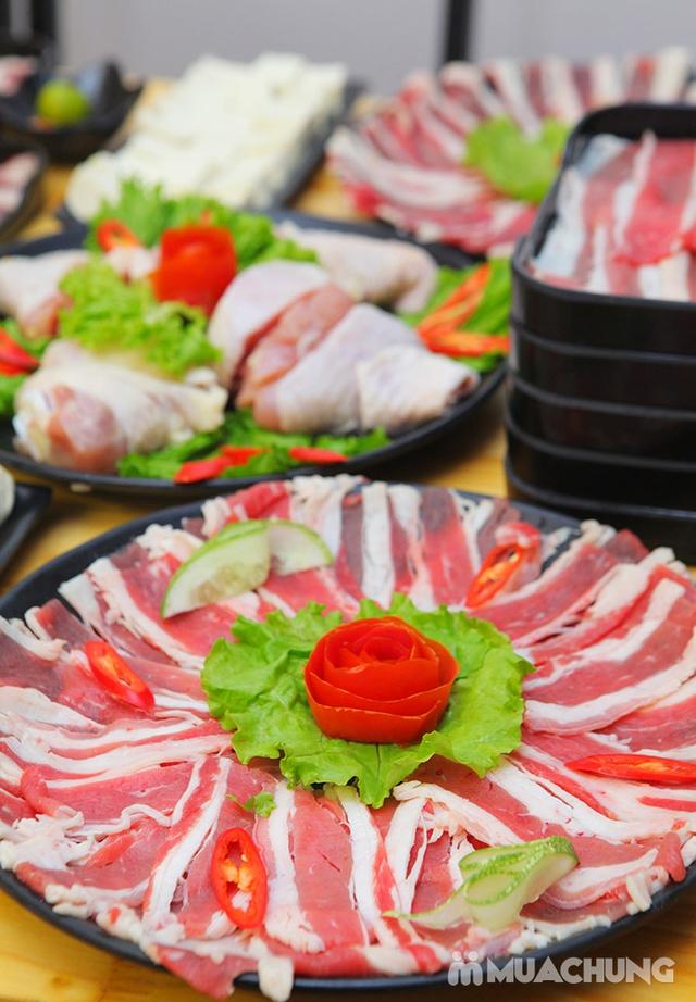 Ăn thả ga buffet lẩu bò Mỹ + nhiều món ăn kèm tại Buffet Ngon 38 Ngọc Khánh - 22