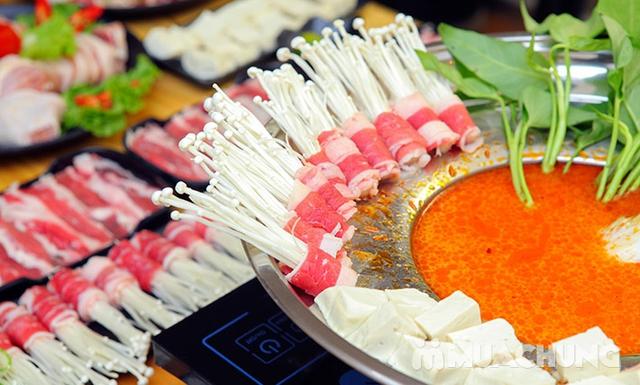 Ăn thả ga buffet lẩu bò Mỹ + nhiều món ăn kèm tại Buffet Ngon 38 Ngọc Khánh - 19
