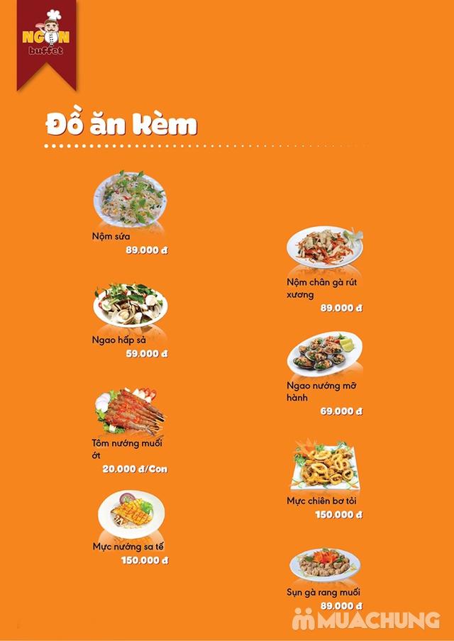 Ăn thả ga buffet lẩu bò Mỹ + nhiều món ăn kèm tại Buffet Ngon 38 Ngọc Khánh - 38