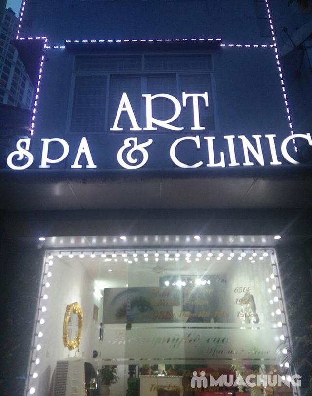 Chăm sóc da chuyên sâu bằng oxy tinh khiết, massage đá nóng 70 phút - 15 bước tại Art Spa - 15