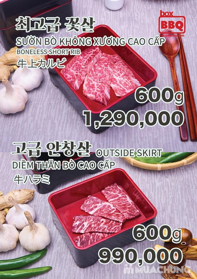 Thưởng thức Buffet Nướng Chuẩn Vị Hàn Tại Box BBQ- 착한고기 - 29
