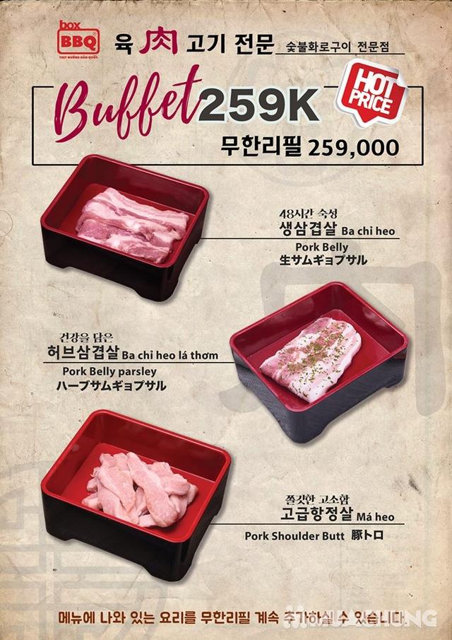 Thưởng thức Buffet Nướng Chuẩn Vị Hàn Tại Box BBQ- 착한고기 - 23