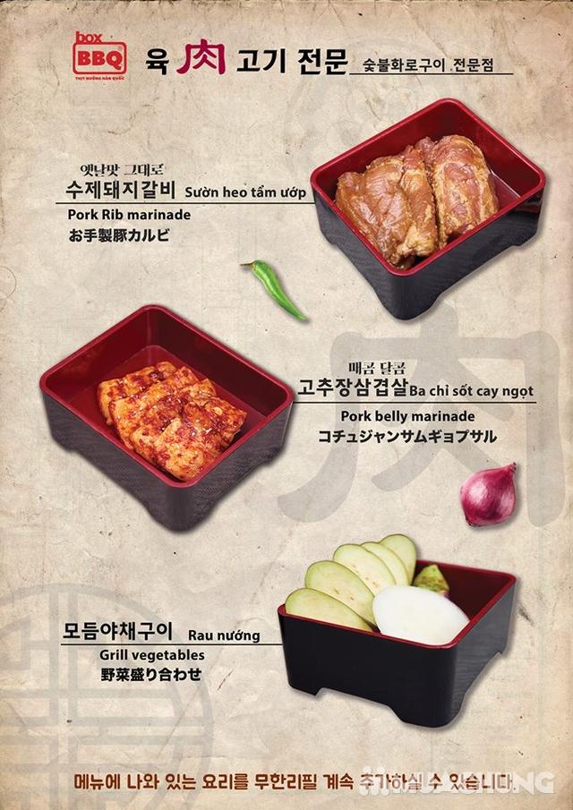 Thưởng thức Buffet Nướng Chuẩn Vị Hàn Tại Box BBQ- 착한고기 - 25