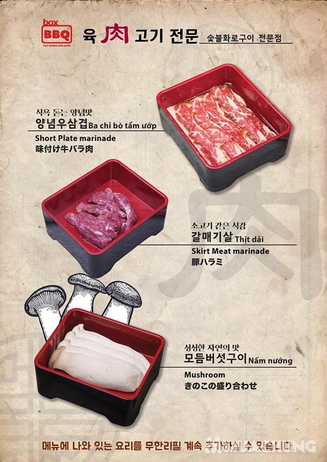 Thưởng thức Buffet Nướng Chuẩn Vị Hàn Tại Box BBQ- 착한고기 - 26