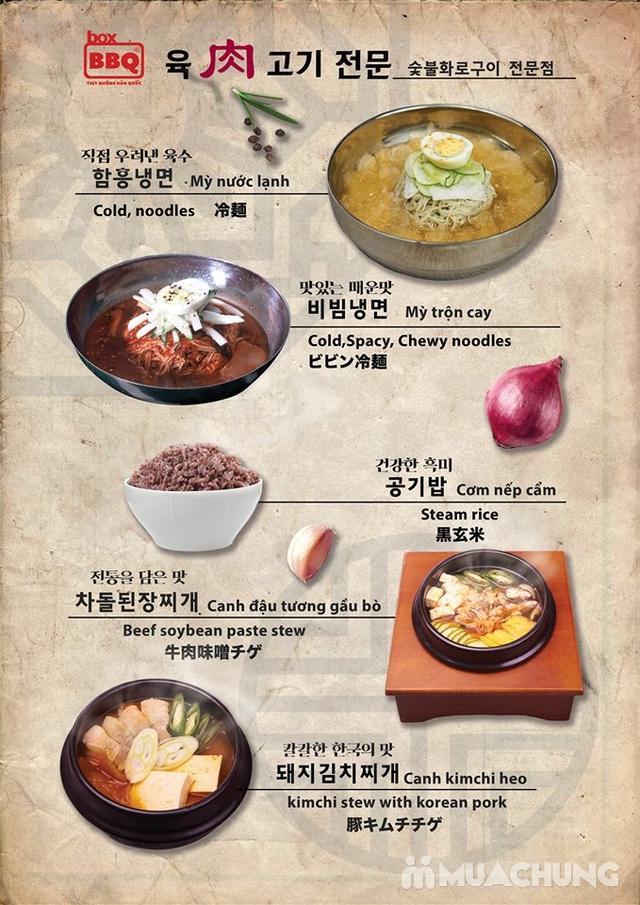 Thưởng thức Buffet Nướng Chuẩn Vị Hàn Tại Box BBQ- 착한고기 - 28
