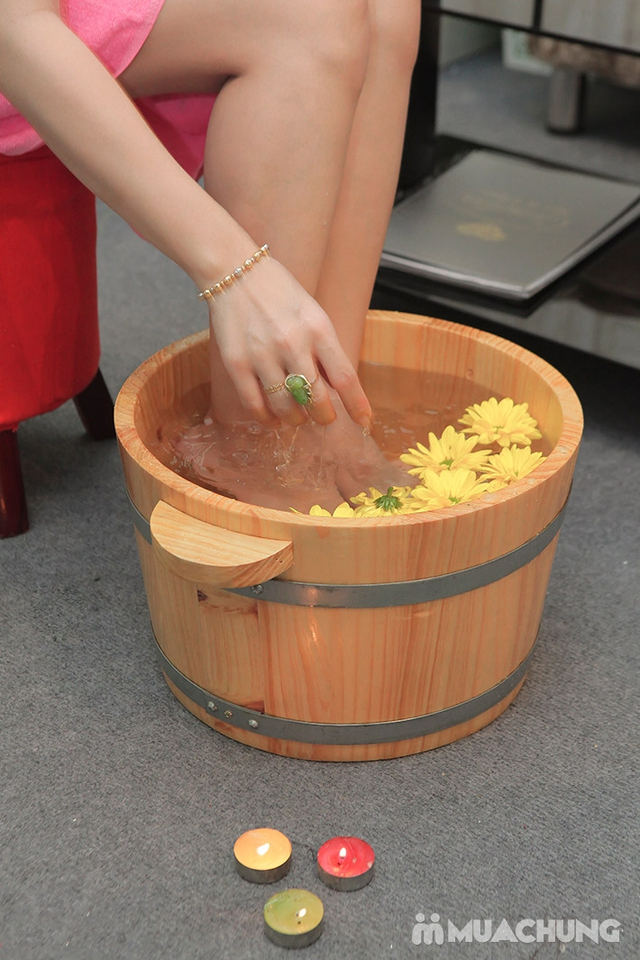 Massage Body đá nóng + Chăm sóc da mặt + Ngâm chân thuốc bắc + Trị liệu cổ vai gáy  tại Camellia Spa - 16