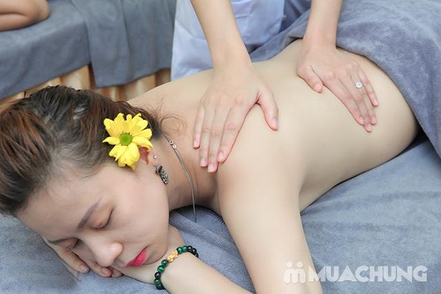 Massage Body đá nóng + Chăm sóc da mặt + Ngâm chân thuốc bắc + Trị liệu cổ vai gáy  tại Camellia Spa - 20