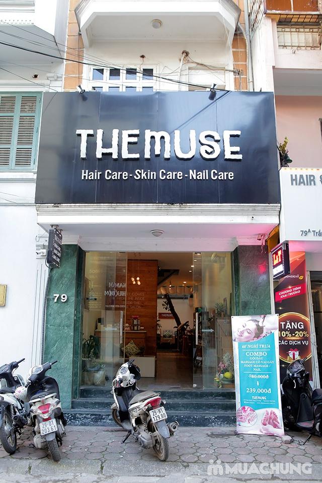 Combo cao cấp xông hơi + ngâm chân thuốc bắc + Massage đá nóng Italy tại The Muse - 22