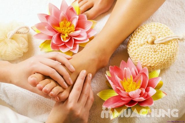 Gội Đầu Davines Ý + Massage đầu, cổ, vai, gáy + Massage Foot/Nail tay hoặc chân tại The Muse Spa - 17