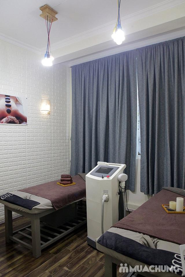 Combo cao cấp xông hơi + ngâm chân thuốc bắc + Massage đá nóng Italy tại The Muse - 12