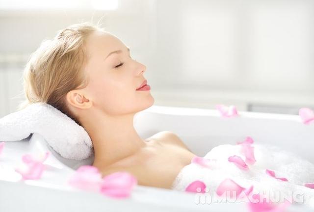 Combo 2 buổi tắm trắng thảo dược và dưỡng trắng bằng phi thuyền tại Trang Beauty & Spa - 1