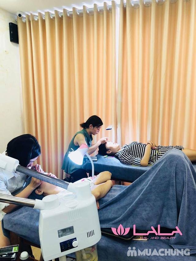 Chăm sóc da cơ bản, hút mụn, massage mặt tại Lala Beauty and Nail - 9