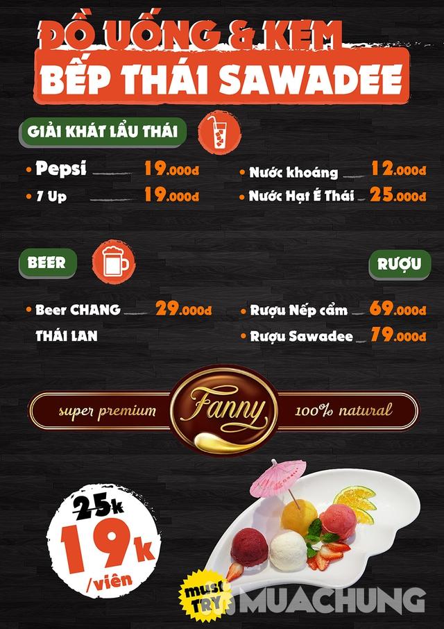 [Chỉ 79k] Buffet Lẩu ngon tuyệt đỉnh tại Bếp Thái Sawadee - Tại 02 Cơ sở - 6