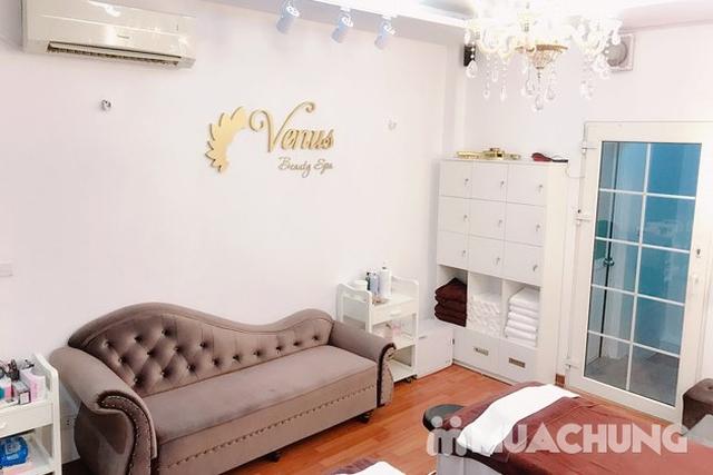 Chăm sóc da mặt cao cấp, đắp mặt nạ, massage mặt thư giãn tại Venus Beauty Spa - 8