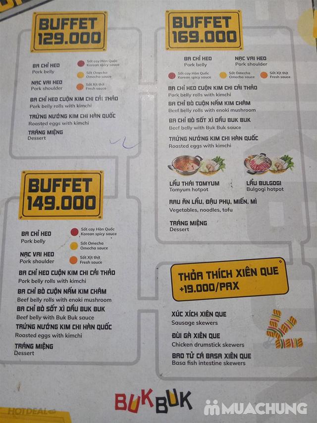 Buffet Lẩu Nướng Hàn Quốc Ăn Không Giới Hạn - NH Buk Buk 301 Tô Hiệu - 33