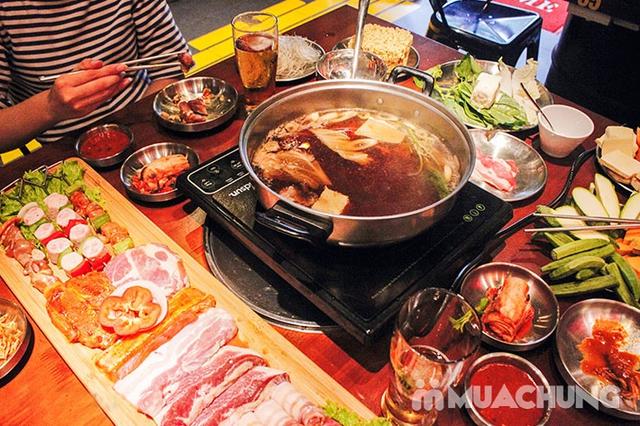 Buffet Lẩu Nướng Hàn Quốc Ăn Không Giới Hạn - NH Buk Buk 301 Tô Hiệu - 1