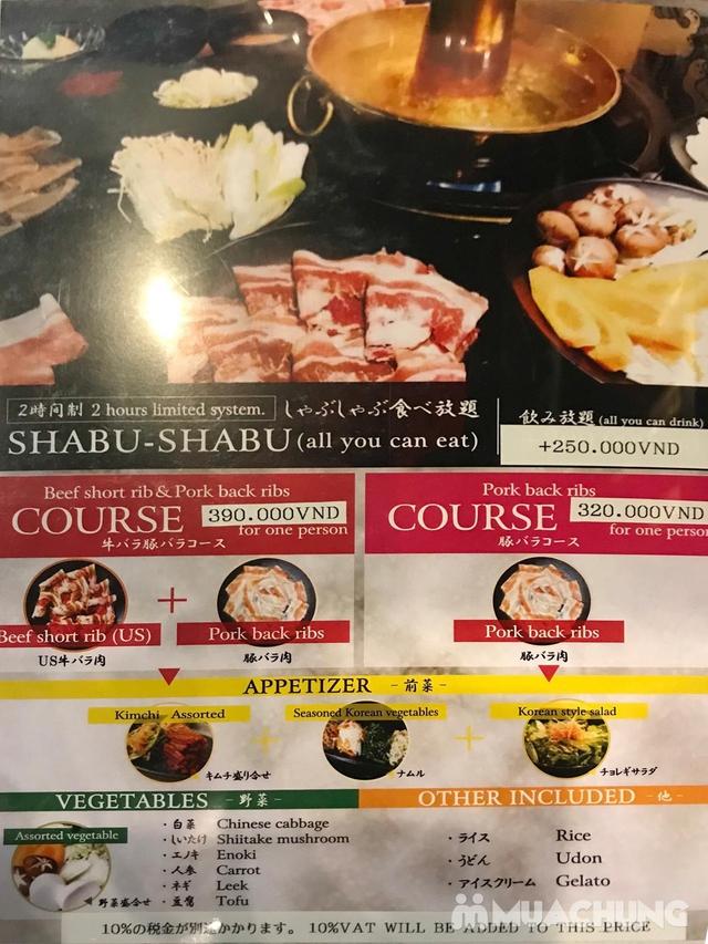 Buffet Lẩu Nhật Bản thượng hạng Menu 390K tại nhà hàng Takumi-Ya - 8