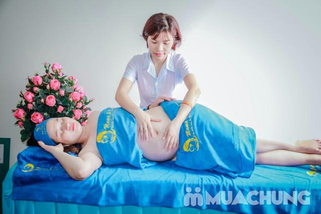 Massage kết hợp ngâm chân giúp mẹ bầu thư giãn tại nhà - Mama & Baby Spa  - 8