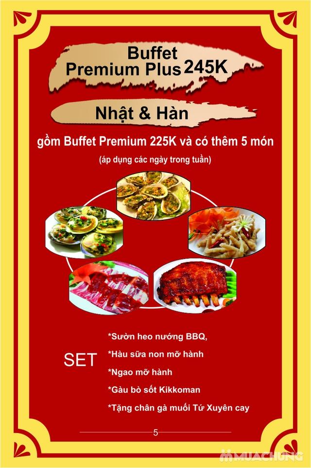 Buffet Combo Nhật Hàn siêu hấp dẫn Menu 270K tại Lẩu Hội Quán Hoàng Cầu - 2