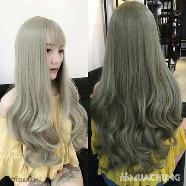 Chọn 1 trong 3 gói làm tóc chuyên nghiệp tại Hưng Nguyễn Hair Salon - tặng 10 lần hấp - 10