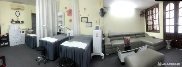 Liệu trình ủ trắng da mặt bằng huyết yến collagen tại Rosa Laevigata Spa - 11