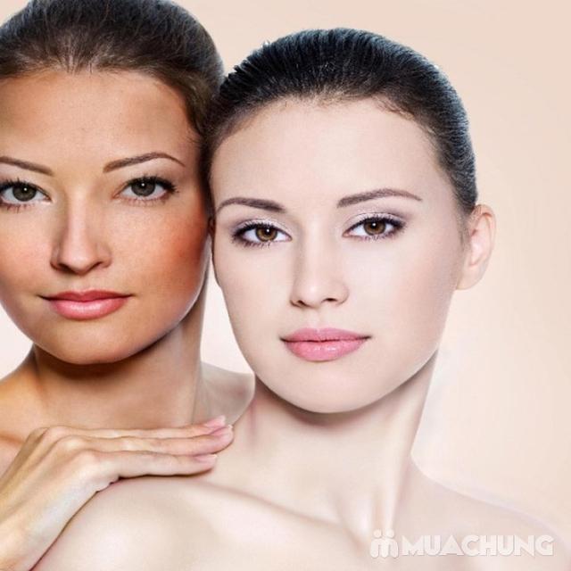 Liệu trình ủ trắng da mặt bằng huyết yến collagen tại Rosa Laevigata Spa - 15