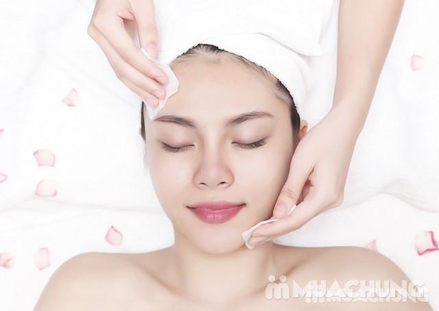 Liệu trình ủ trắng da mặt bằng huyết yến collagen tại Rosa Laevigata Spa - 13