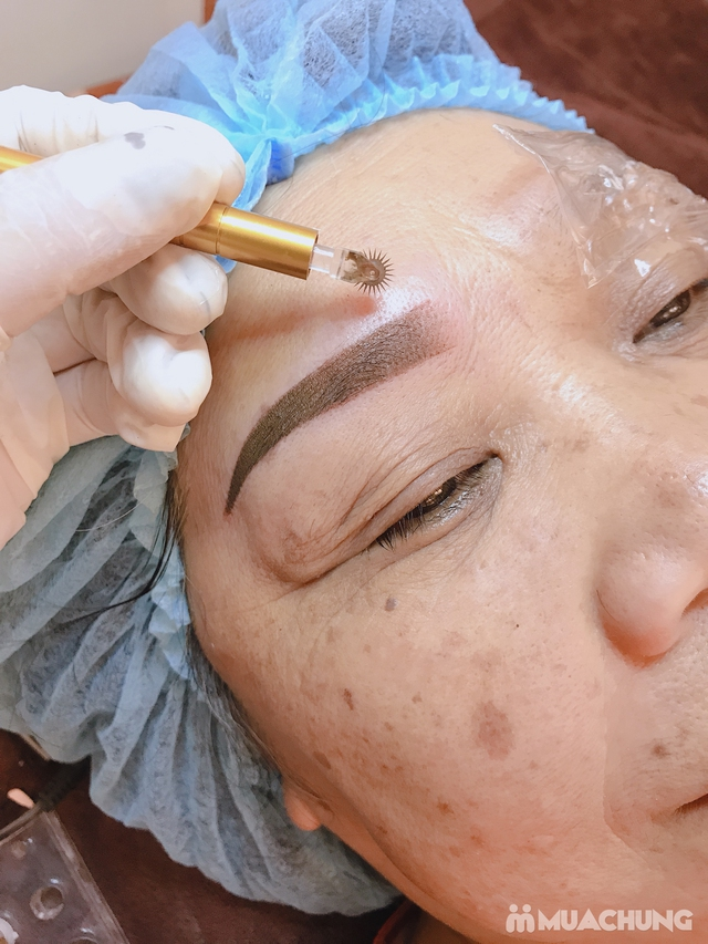 Phun mày siêu vi điểm 3D Hàn Quốc tại Venus Beauty Spa - 5