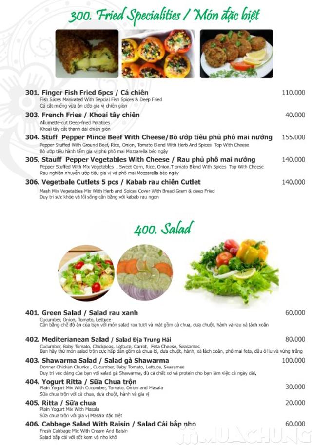 Voucher khám phá văn hóa ẩm thực Trung Đông Nhà hàng Nan n Kabab - 1