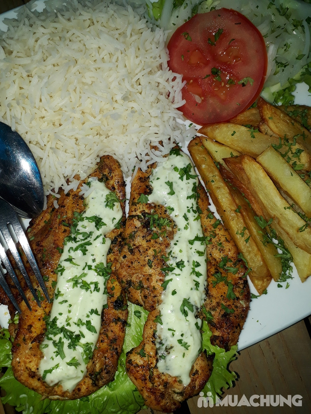 Voucher khám phá văn hóa ẩm thực Trung Đông Nhà hàng Nan n Kabab - 8
